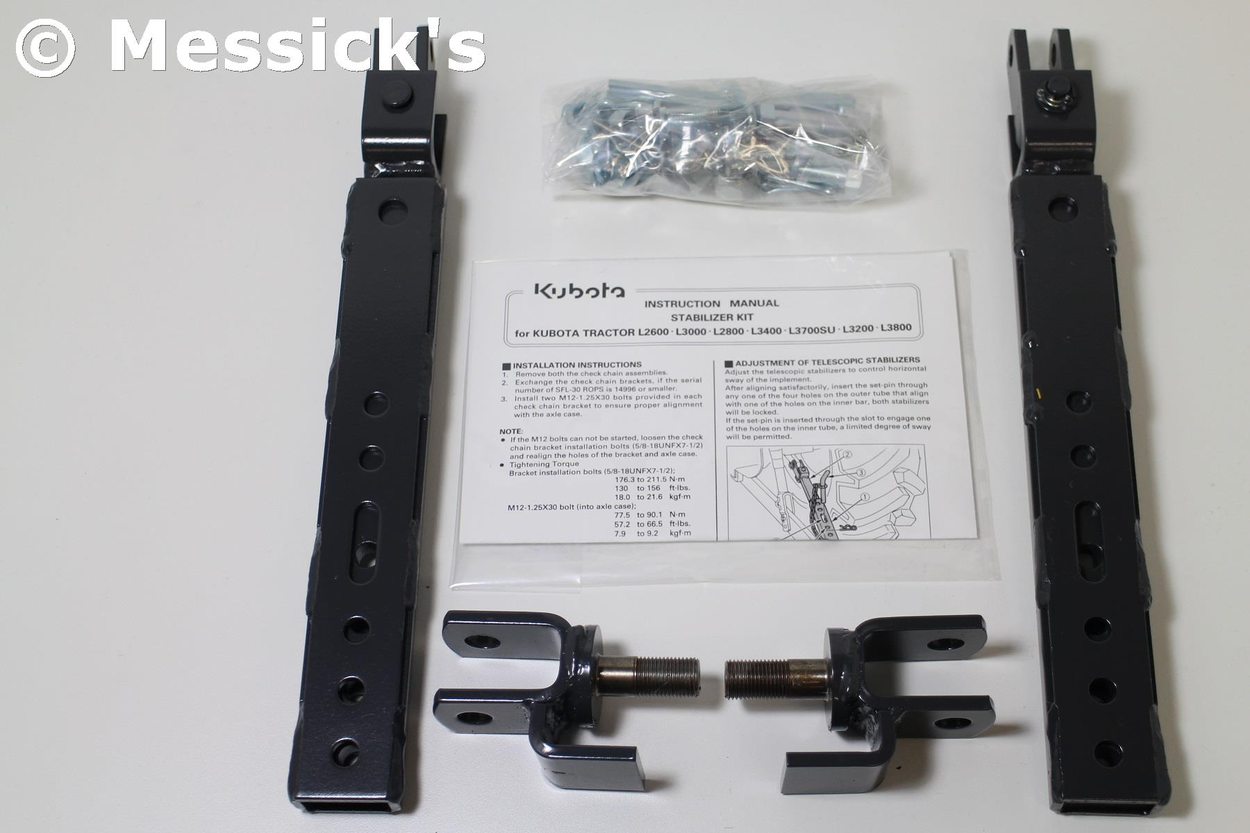 Telescopic Stabilizer Kit