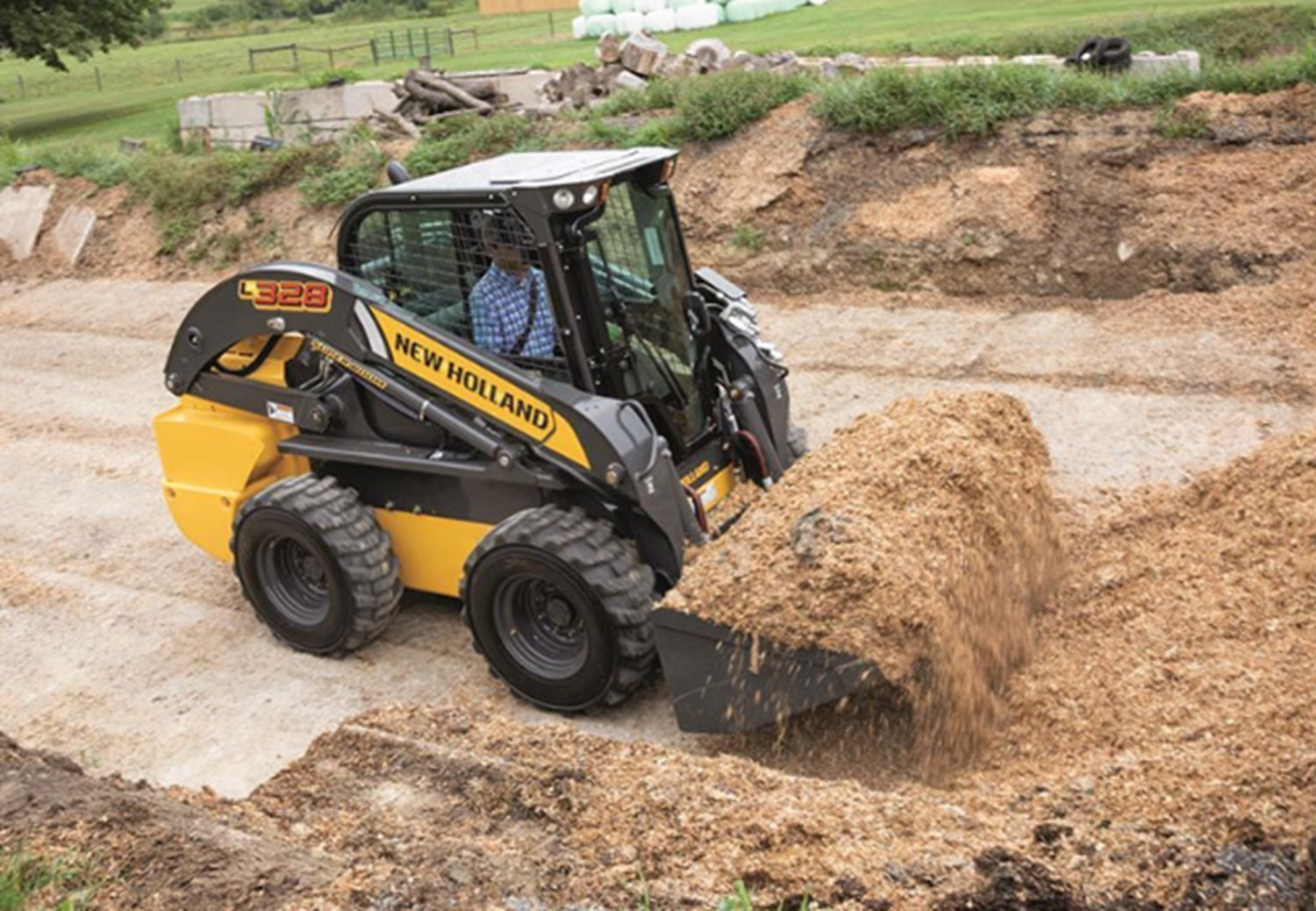 NEW HOLLAND 300 SERIES SKID STEER