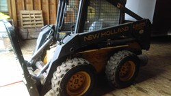 NEW HOLLAND LX665