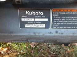 KUBOTA F2560