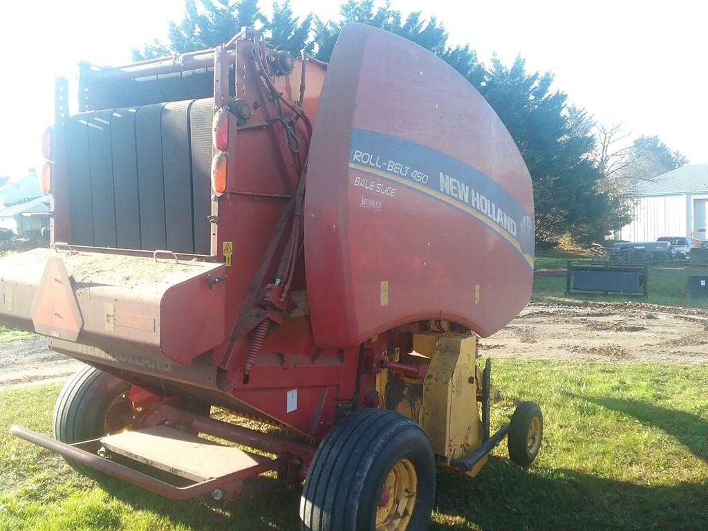 Used NEW HOLLAND ROLL-BELT 450SL $31,900.00