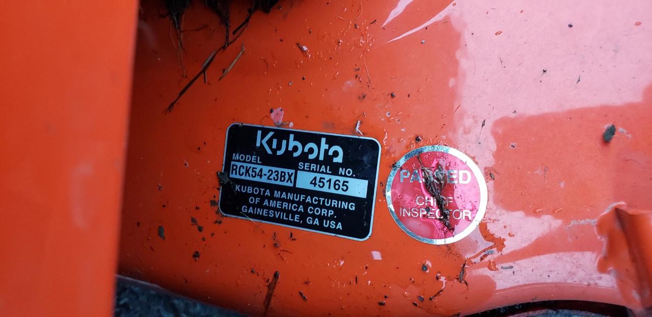 Used KUBOTA BX1880 $8,195.00