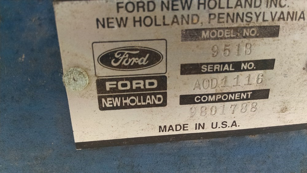 Used FORD 951B $975.00