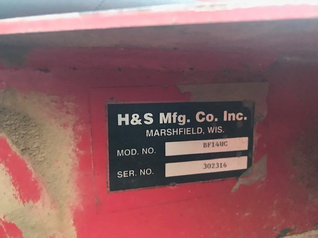 Used H&S BF14HC $9,750.00