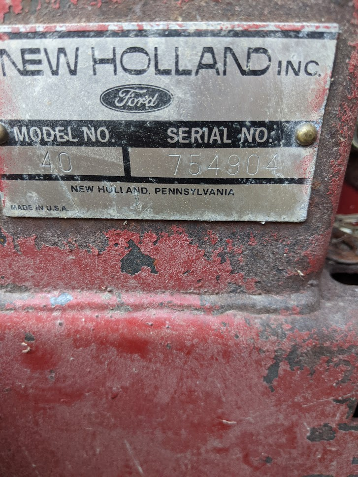 Used NEW HOLLAND 40 $1,950.00