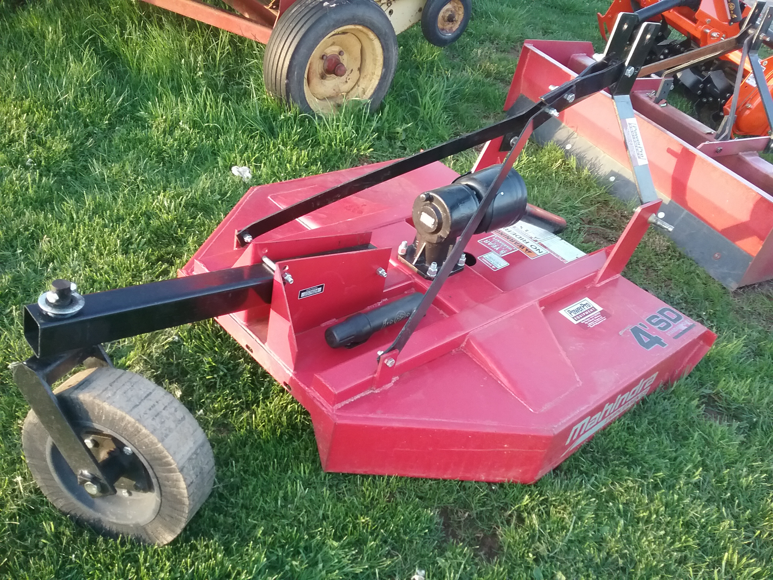 Used MAHINDRA 4SD $1,095.00