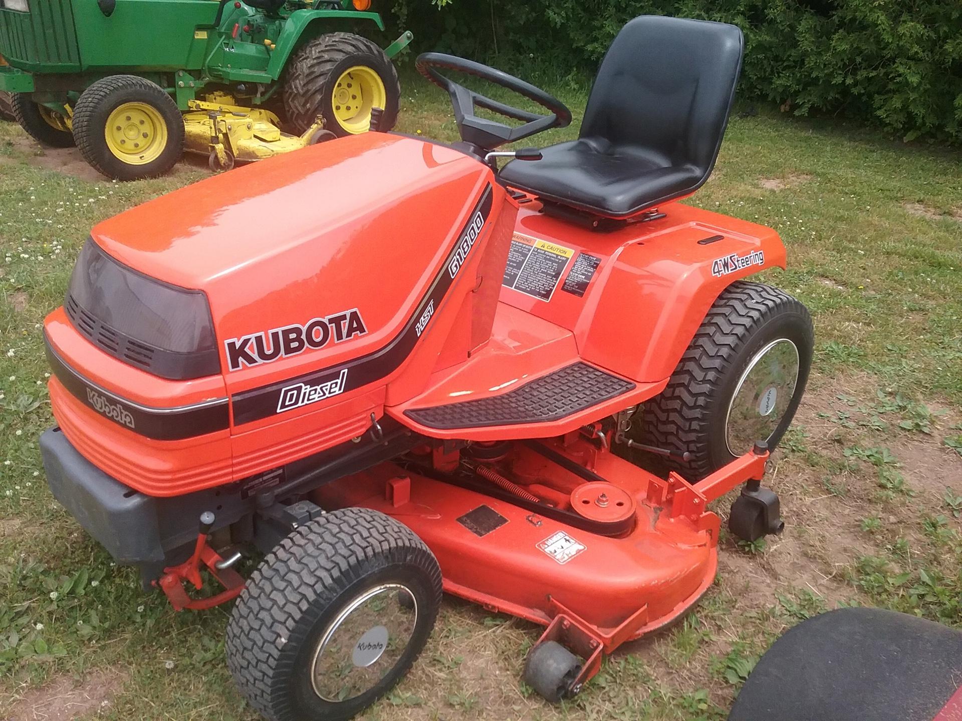 Used KUBOTA G1800 $2,450.00