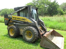 New Holland L185 used picture