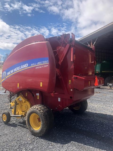 Used NEW HOLLAND RB560 $26,500.00