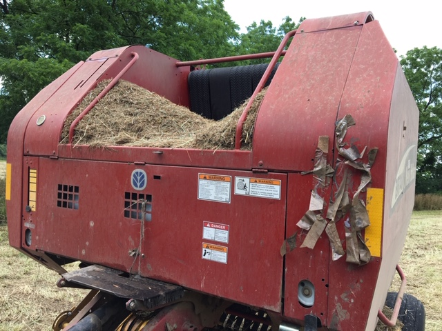 Used NEW HOLLAND BR740 $11,800.00