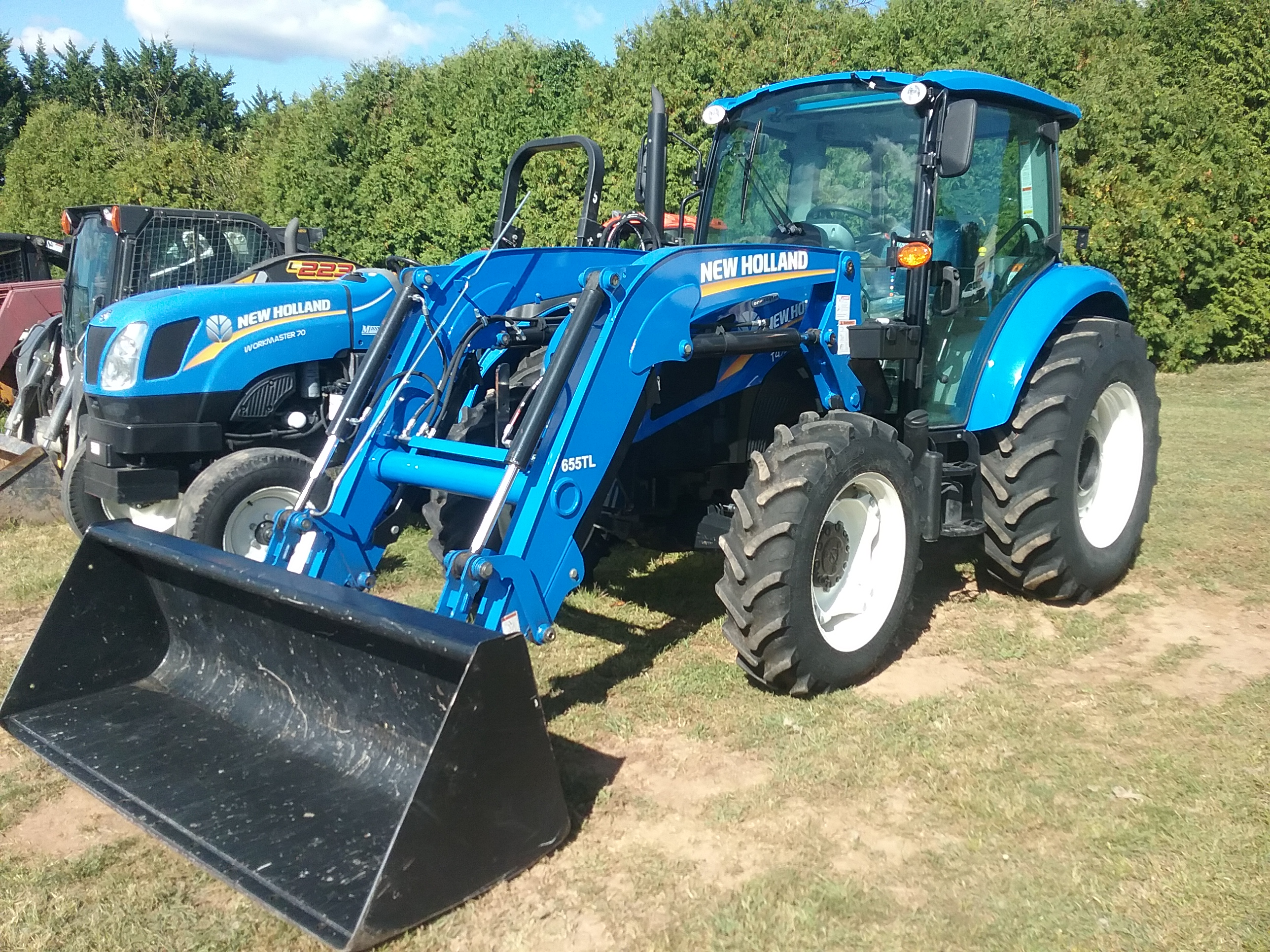 Used NEW HOLLAND T4.75 $39,500.00