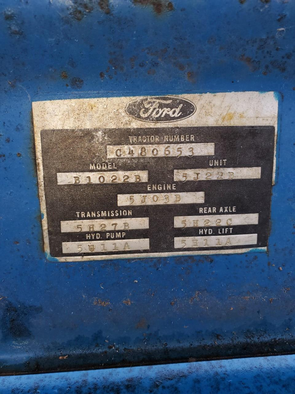 Used FORD 2000 $3,850.00