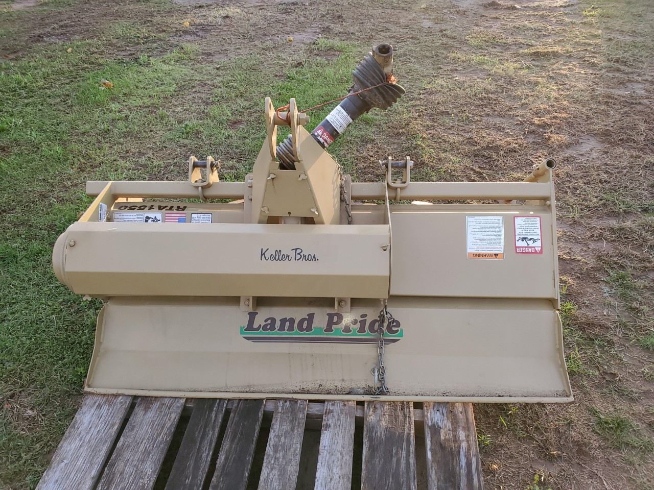 Used LAND PRIDE RTA1558 $1,695.00