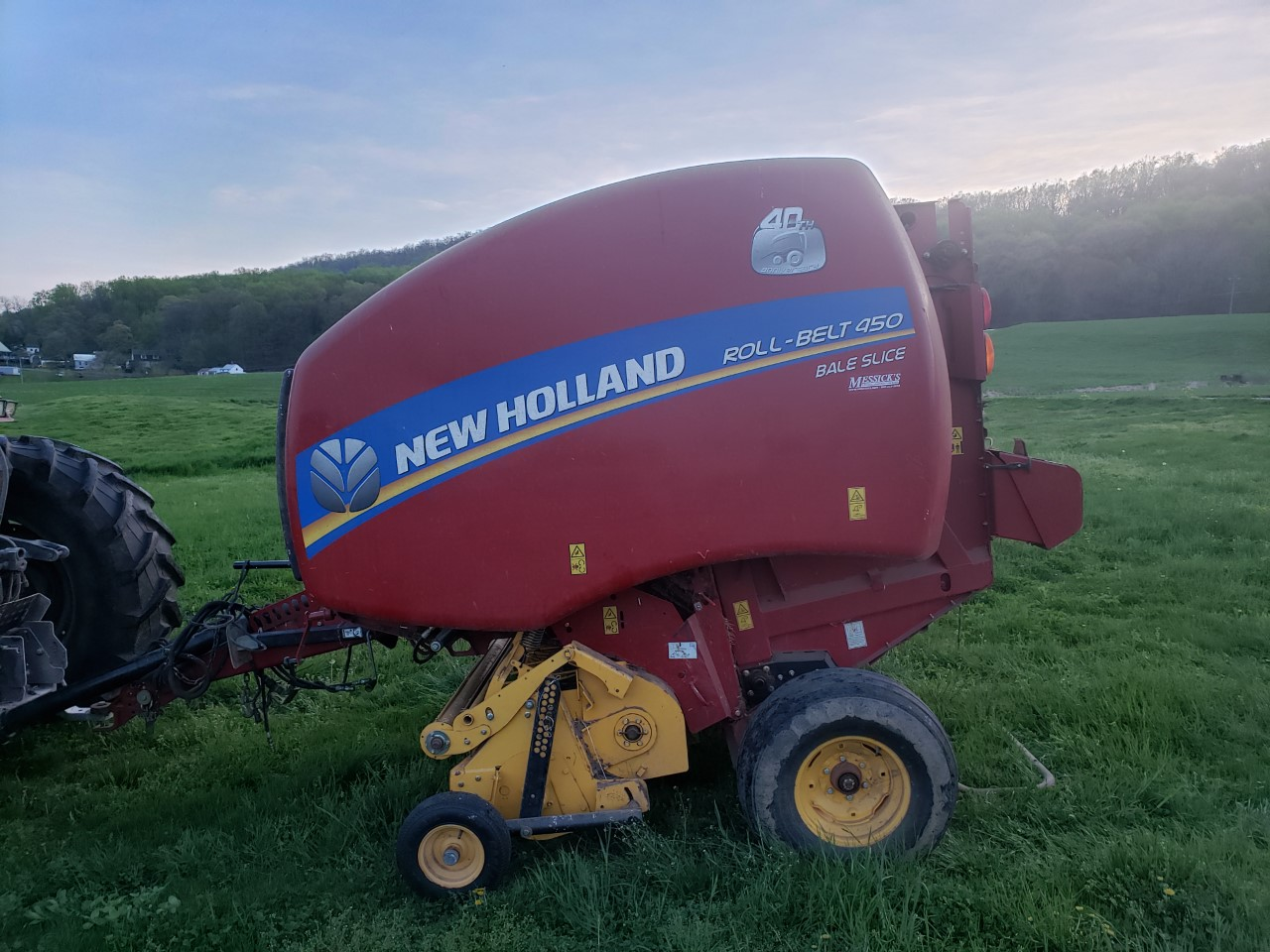 Used NEW HOLLAND ROLL-BELT 450SL $19,800.00