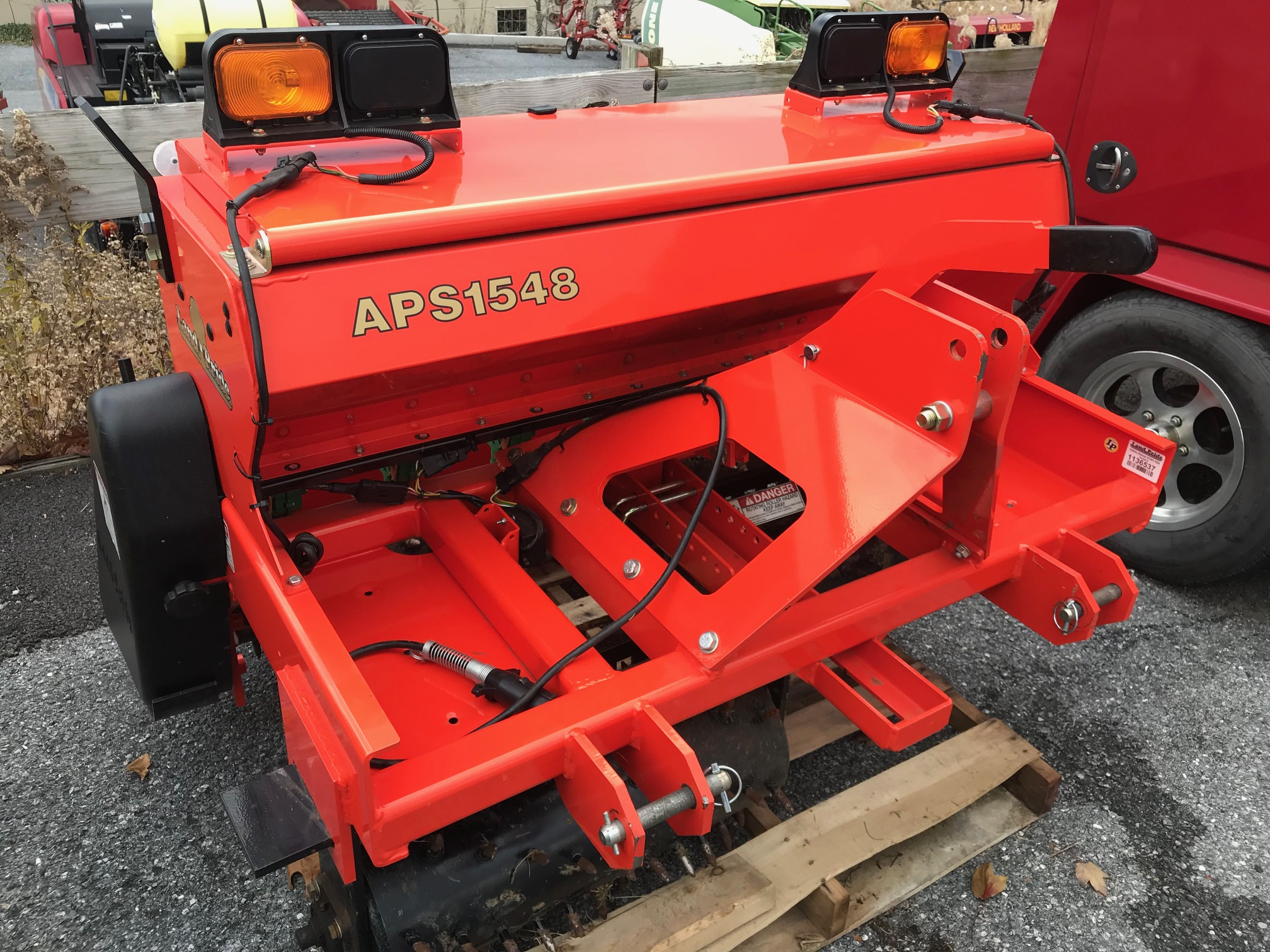 Used LAND PRIDE APS1548 $4,095.00