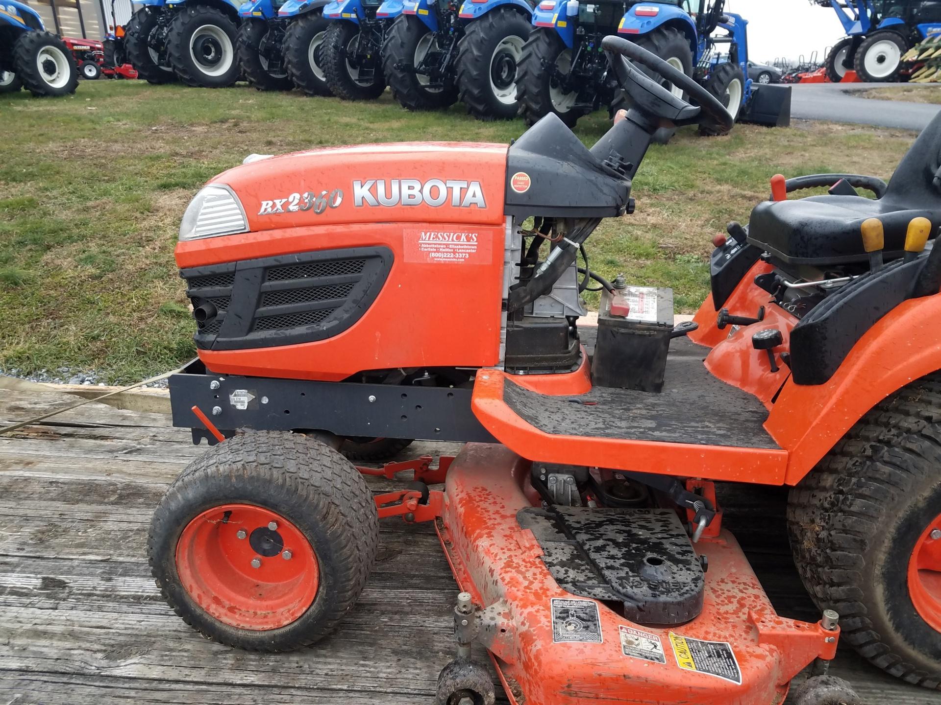 Used KUBOTA BX2360 $7,800.00