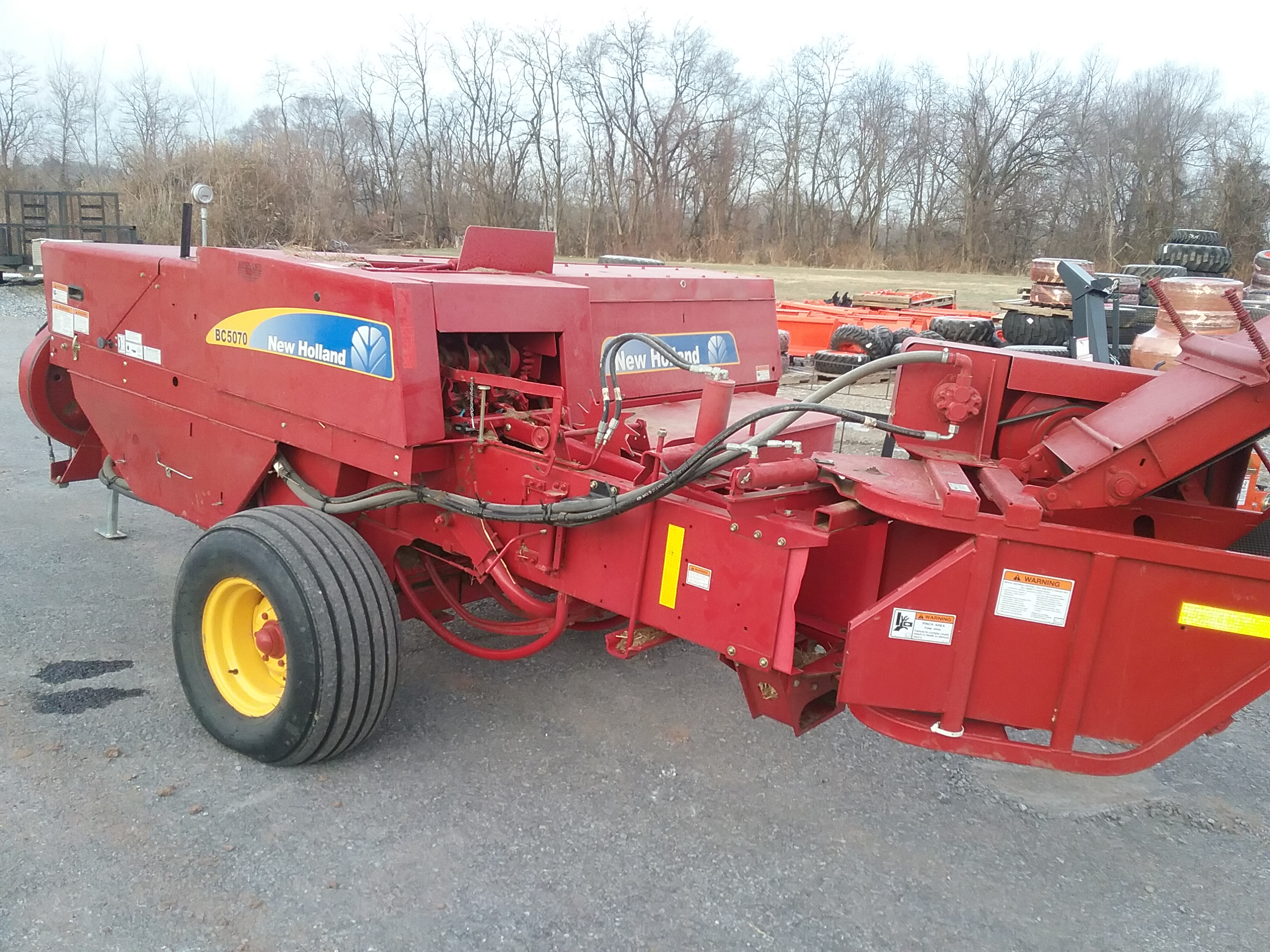 Used NEW HOLLAND BC5070 $19,800.00