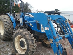 New Holland TN75A used picture