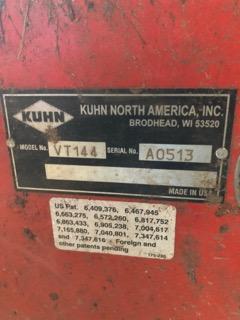 Used KUHN VT144 $19,900.00