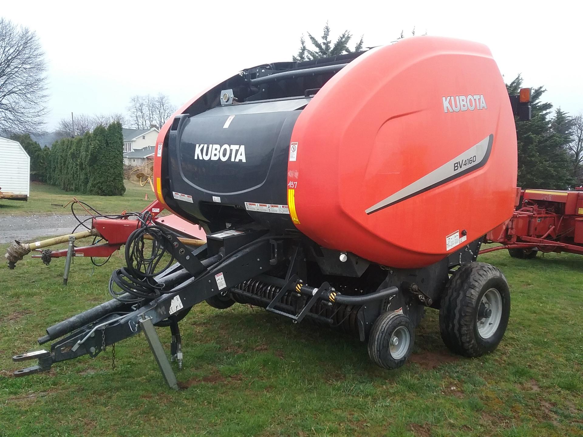 Used KUBOTA BV4160PREMNET $21,900.00