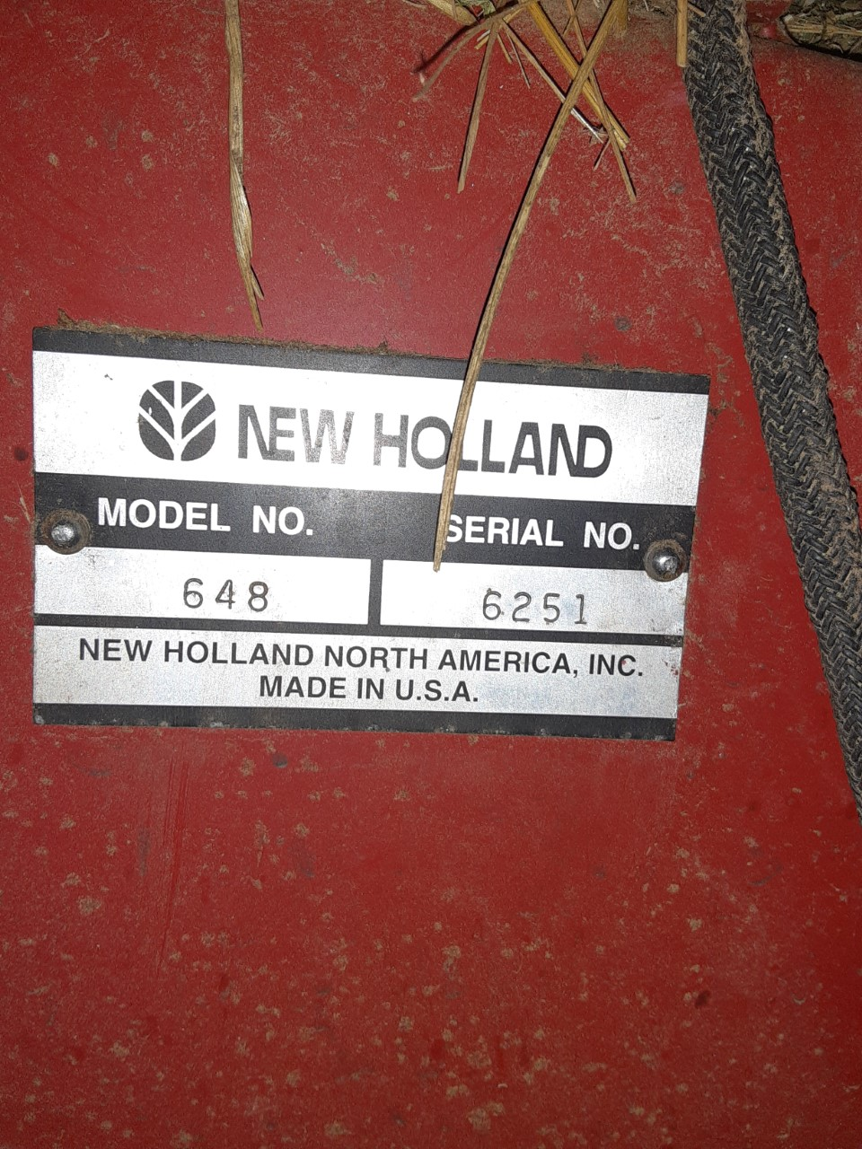 Used NEW HOLLAND 648 $9,950.00