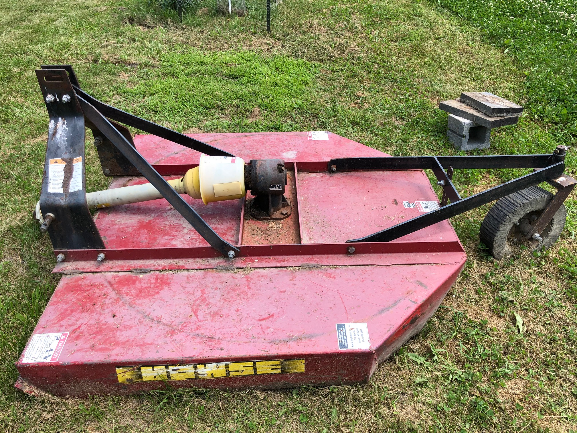 Used HOWSE 500 $595.00
