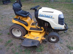 Cub Cadet SLT1554 used picture